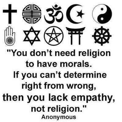 Not Religion