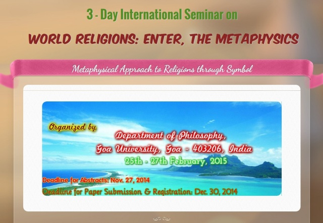 World Religions - Enter The Metaphysics